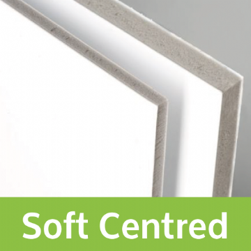Single Sided Soft Centred Foam